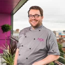 Joe Berry - Head Chef at Top Sheffield Restaurant, Inox
