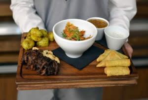 Indian Platter - Sheffield Top Restaurant - Inox