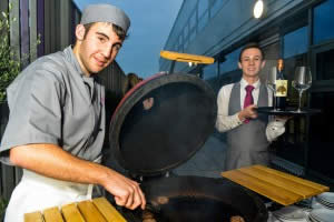 Outdoor Dining at Inox - Sheffield Hospitality