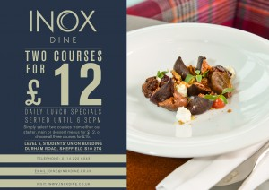 Two Courses For £12 - Sheffield Restaurant Offers