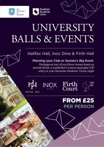 University Balls & University Function Rooms