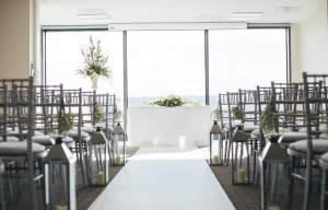Contemporary Wedding Venue in Sheffield with a view