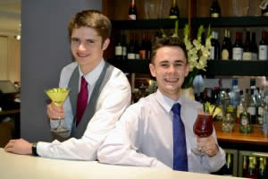 Staff at Inox serving Cocktails in Sheffield