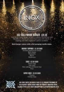 Rock of Ages Dinner - Inox Events